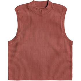 Roxy Spring Muse Maglietta Donna, rosso